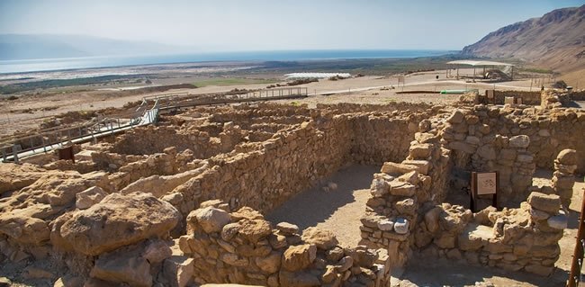 Travel to Qumran during your Jewish Tour to Israel