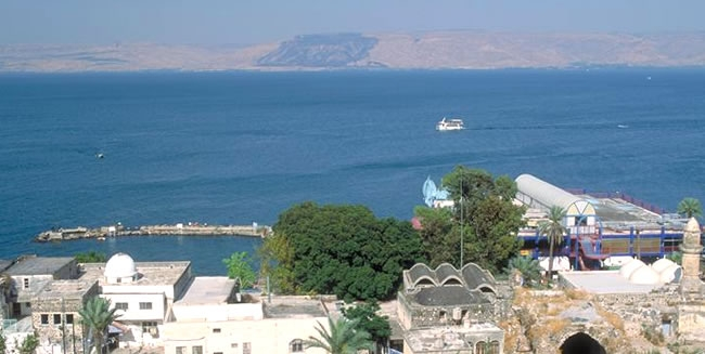 Visit Tiberias during a Tour to Israel