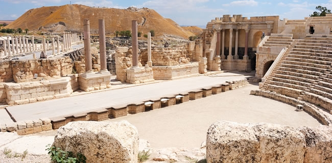 Explore Beit Shean during your Jewish Heritage Tour of Israel